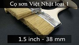Cọ sơn cán gỗ 1.5 inch