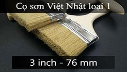 Cọ sơn cán gỗ 3 inch