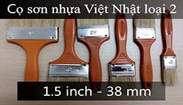 Cọ sơn cán nhựa thường 1.5 inch