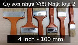 Cọ sơn cán nhựa thường 4 inch