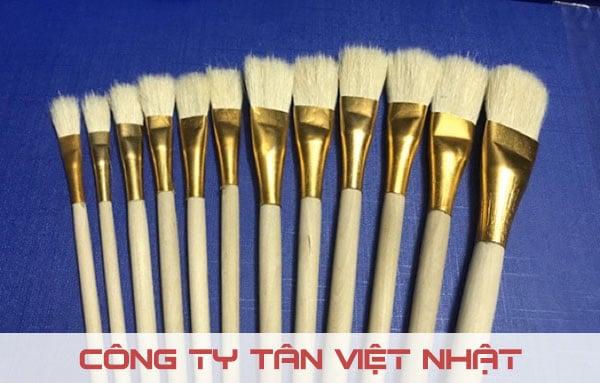 Sản xuất cọ sơn Tân Việt Nhật bằng các loại sợi tự nhiên